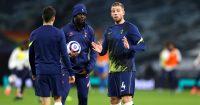 Toby Alderweireld, Tanguy Ndombele Tottenham v Crystal Palace March 2021