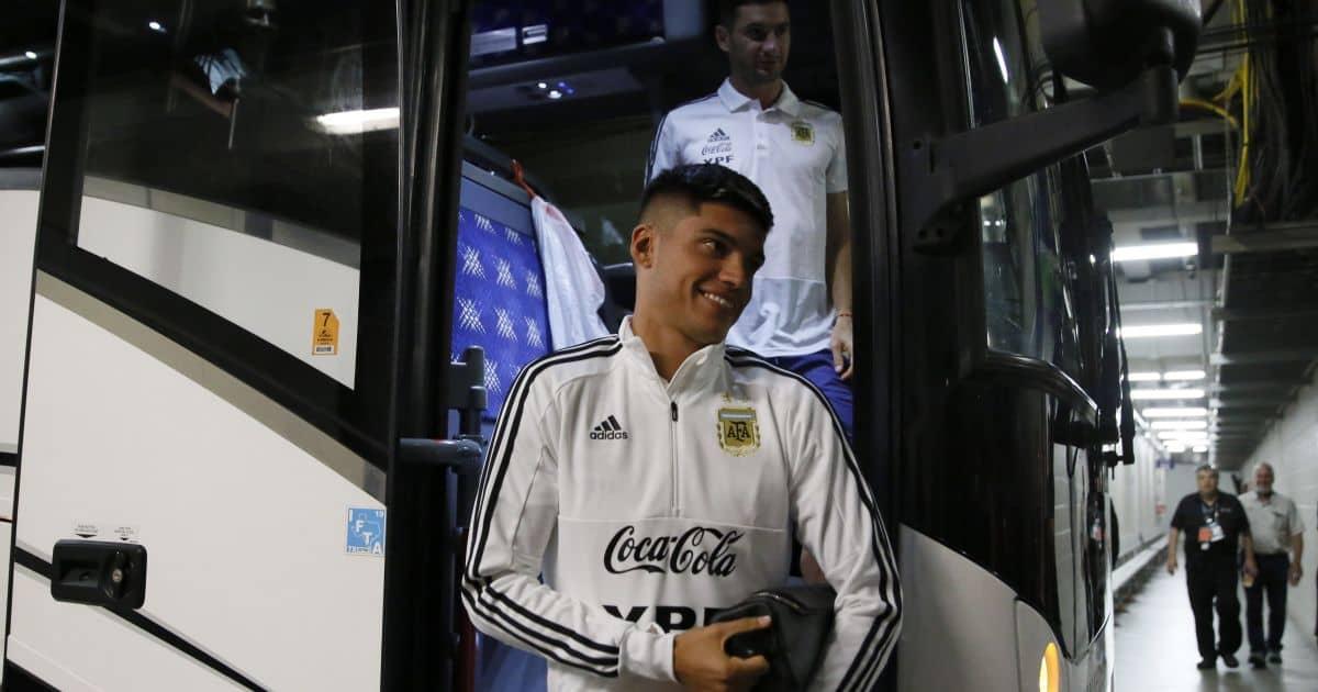 Joaquin Correa Argentina duty TEAMtalk