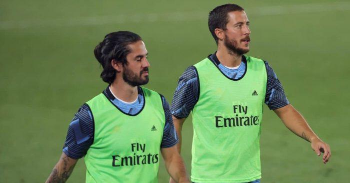 Isco, Eden Hazard, Real Madrid