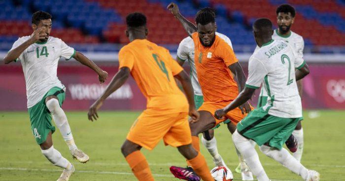 Franck Kessie Ivory Coast v Saudi Arabia July 2021