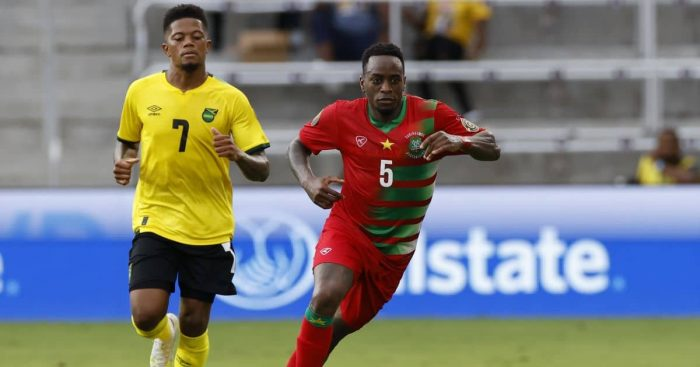 Leon Bailey, Ridgeciano Haps Jamaica v Suriname July 2021