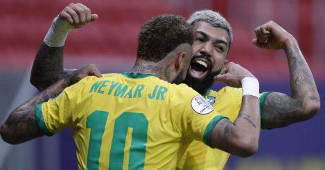 Neymar Jnr, Gabriel Barbosa, Brazil celeb