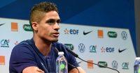 Raphael Varane France press conference May 2021