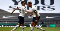 Toby Alderweireld, Harry Winks Tottenham v Arsenal July 2020