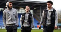 Harvey Elliott, Curtis Jones, Pedro Chirivella Shrewsbury v Liverpool January 2020