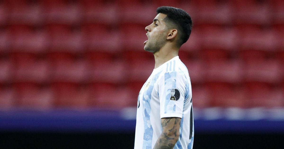 Cristian Romero Argentine juin 2021 TEAMtalk