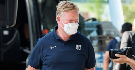 Ronald Koeman Barcelona coach TEAMtalk
