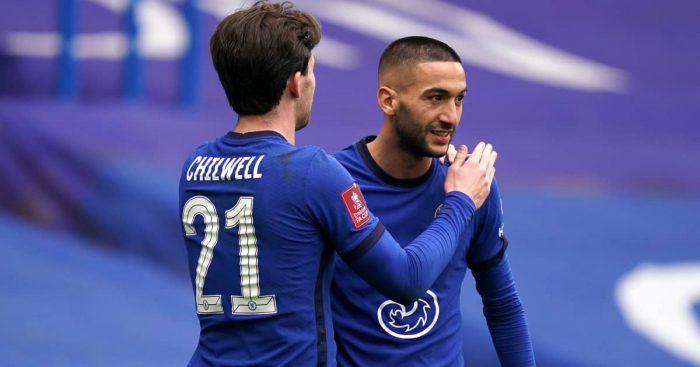 Ben.Chilwell.embracing.Hakim_.Ziyech.Chelsea.202