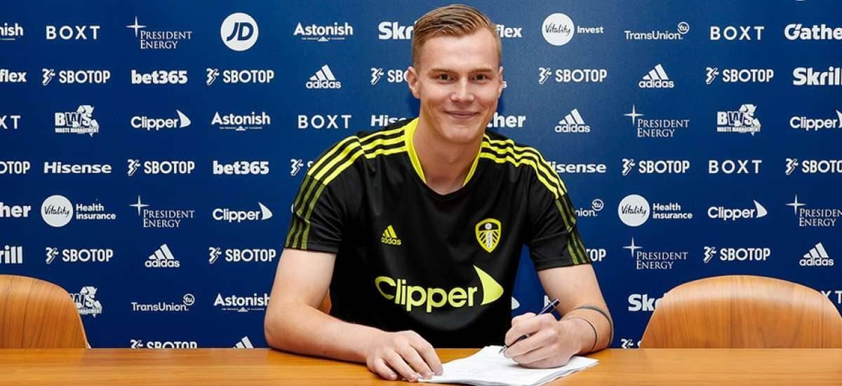 Kristoffer Klaesson (pic via Leeds United)