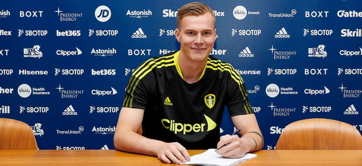 Kristoffer Klaesson (Image via Leeds United)