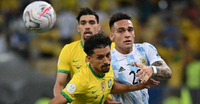 Marquinhos, Lautaro Martinez, Copa America TEAMtalk