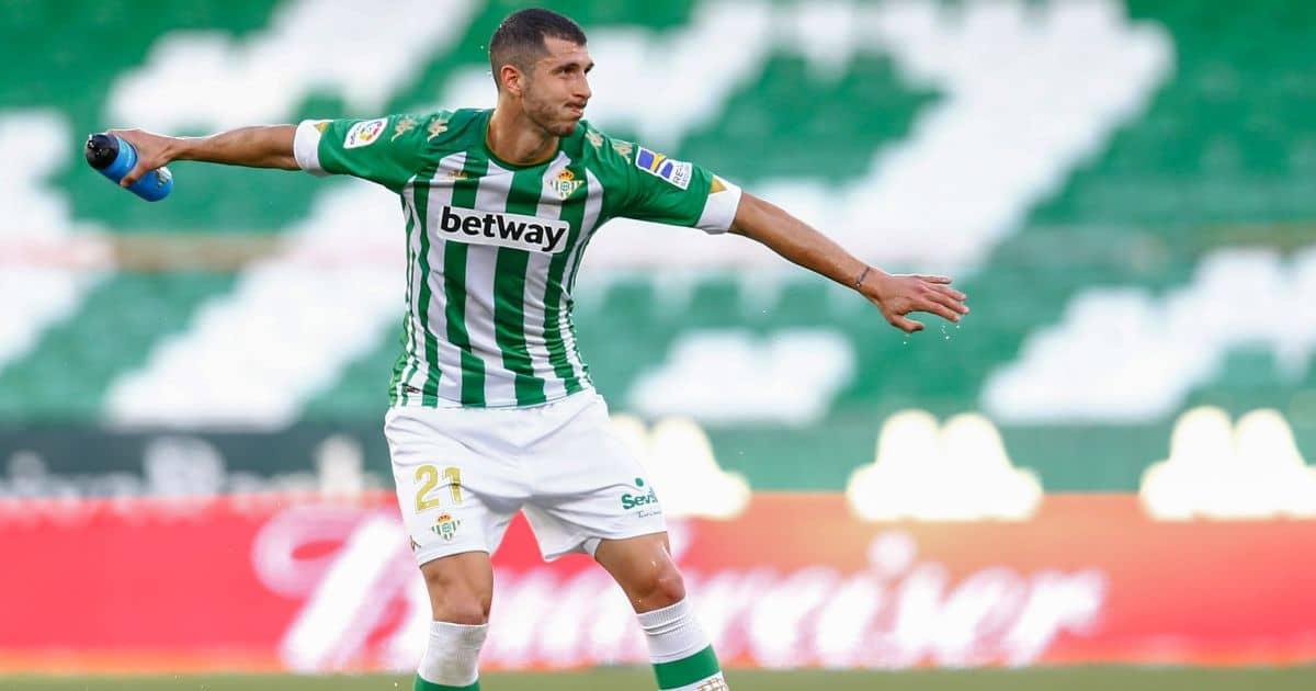 Guido Rodriguez Real Betis May 2021 TEAMtalk