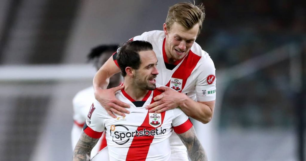 Danny Ings and James Ward-Prowse, Southampton, 2021