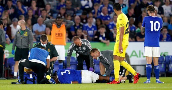Wesley Fofana injury Leicester TEAMtalk