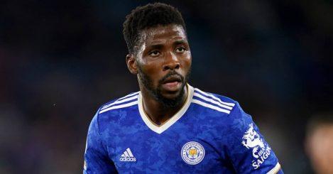 Kelechi Iheanacho Leicester City striker 2021