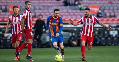 Lionel Messi Mario Hermoso