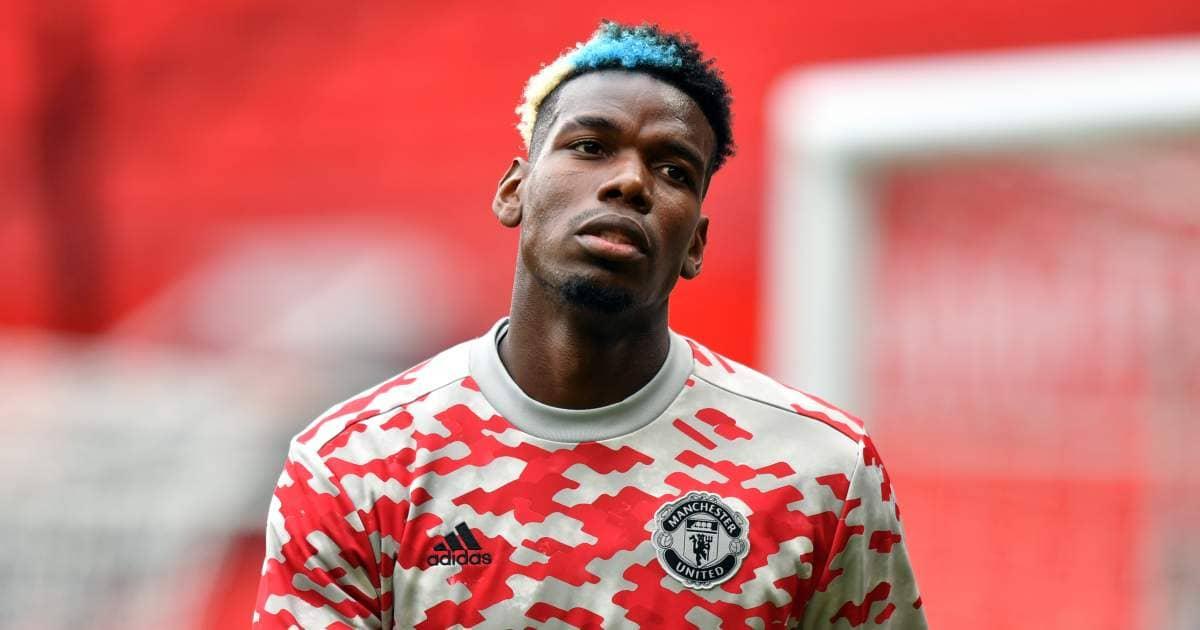 Paul Pogba before Man Utd friendly August 2021
