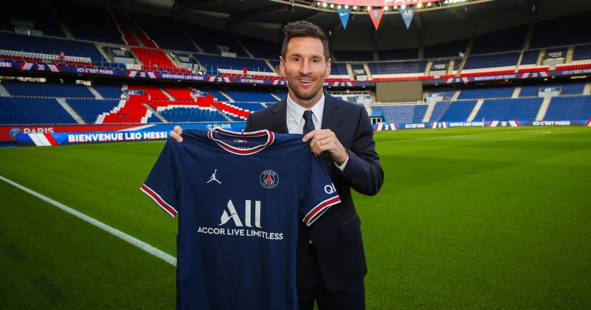 Lionel Messi unveiled by PSG after signing two-year deal