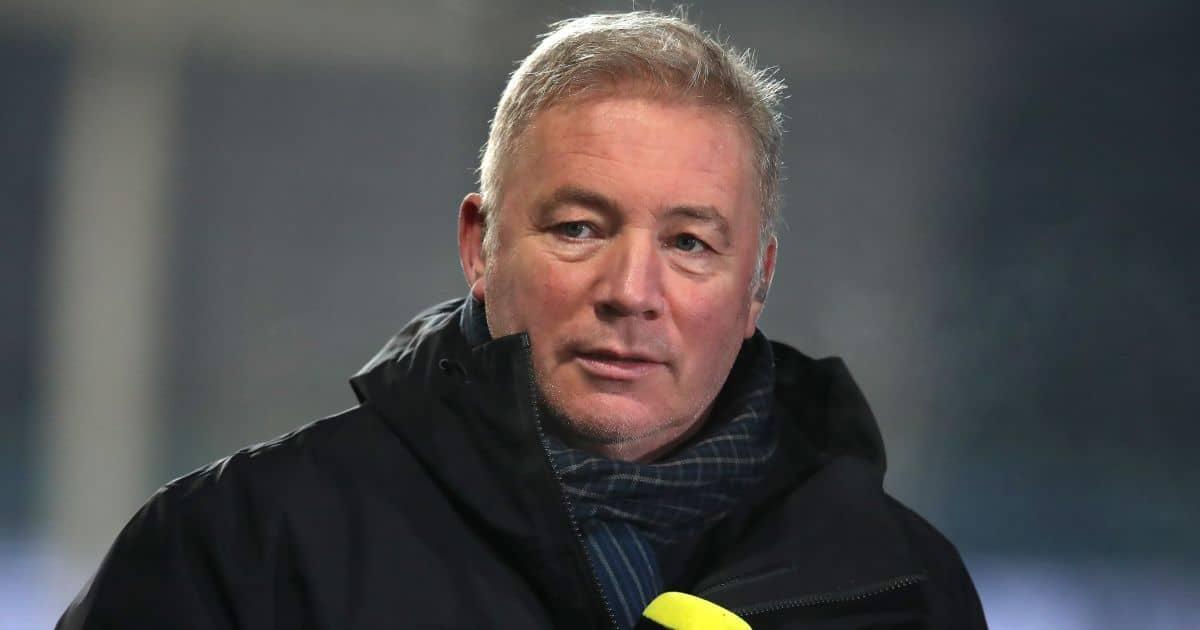 Ally McCoist, football pundit, former Rangers striker