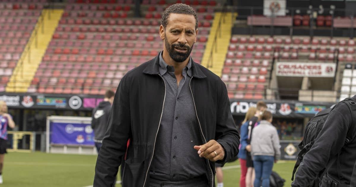 Heat rises on Ferdinand, as Man Utd star joins Solskjaer in blasting pundit