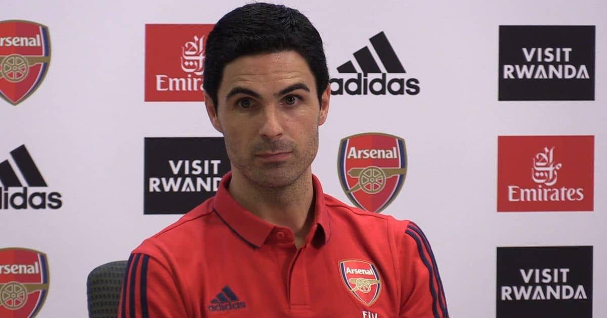 Mikel Arteta faces the press, Arsenal manager, Emirates Stadium