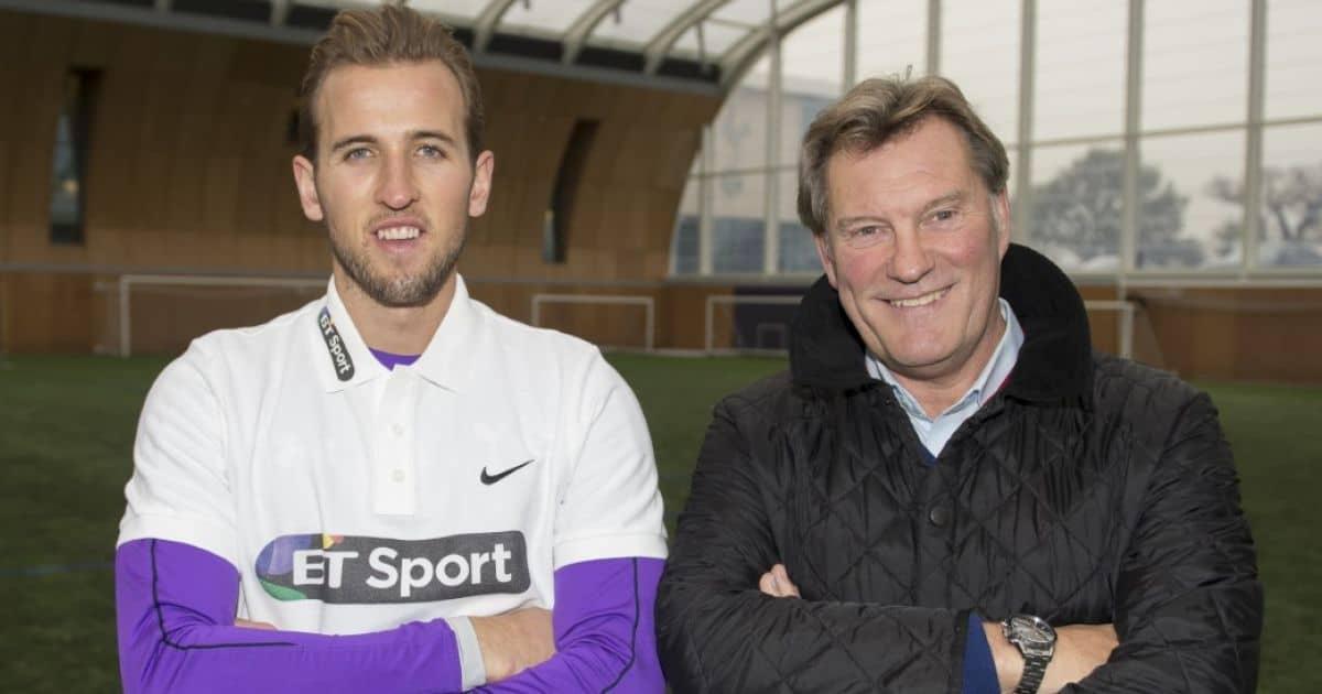 Harry Kane and Glenn Hoddle at BT Sports event