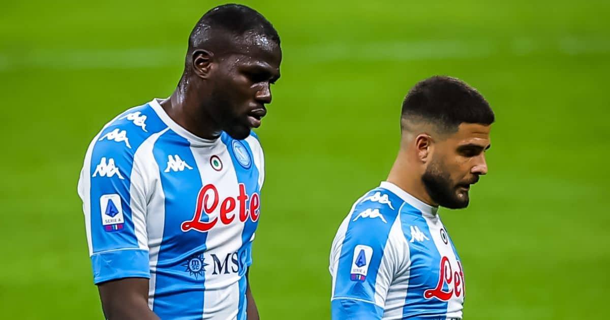 Kalidou Koulibaly, Lorenzo Insigne, Napoli Serie A, Giuseppe Meazza stadium