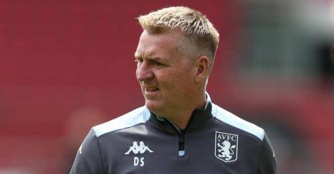 Dean Smith before Aston Villa pre-season friendly July 2021