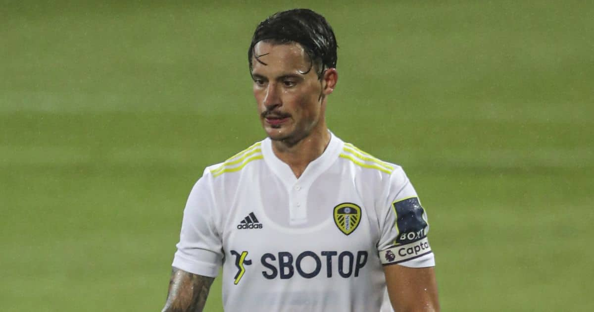 Robin Koch Leeds United captain armband July 2021