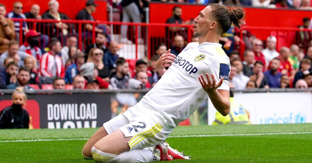 Leeds United's Luke Ayling