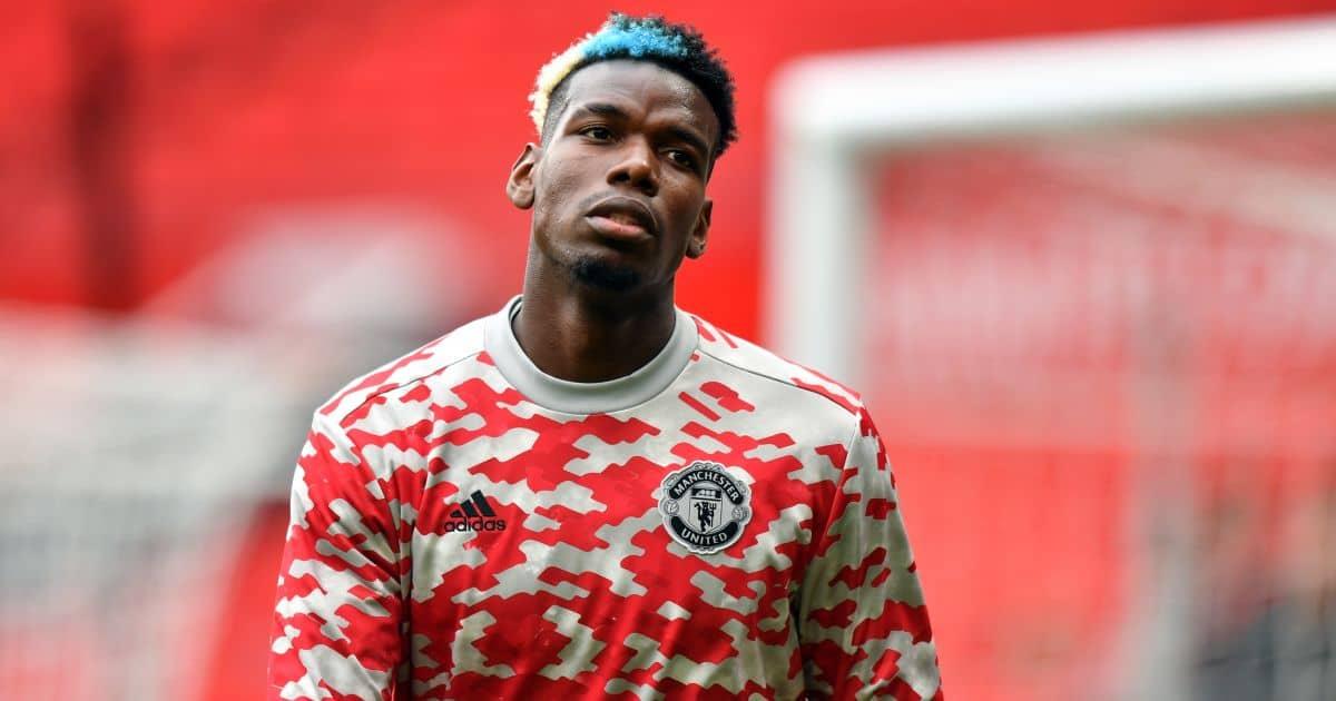 Man Utd's Paul Pogba