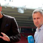 BT Sports Pundits Rio Ferdinand and Joe Cole