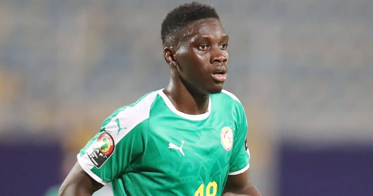 Ismaila Sarr in action for Senegal 2019 Africa Cup of Nations match against Kenya