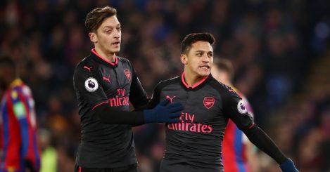 Mkhitaryan Sanchez Arsenal Man Utd