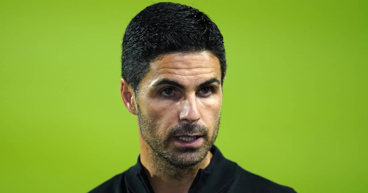 Arsenal manager Mikel Arteta speaking after their 2-0 defeat to Brentford 2021