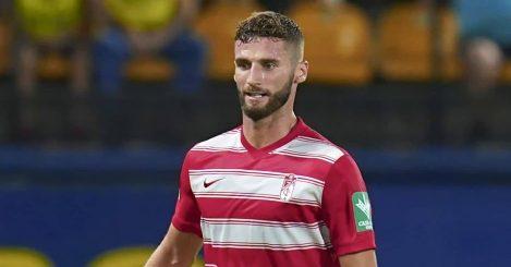 Domingos Duarte in match between Villarreal and Granada