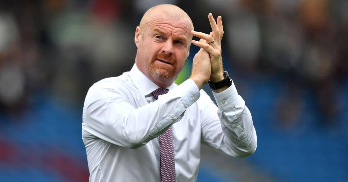 Burnley head coach Sean Dyche