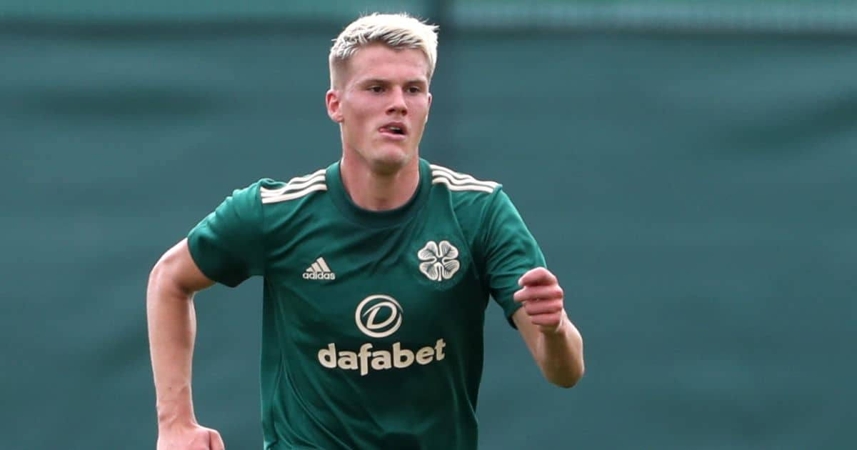 Leo Hjelde Celtic defender July 2021