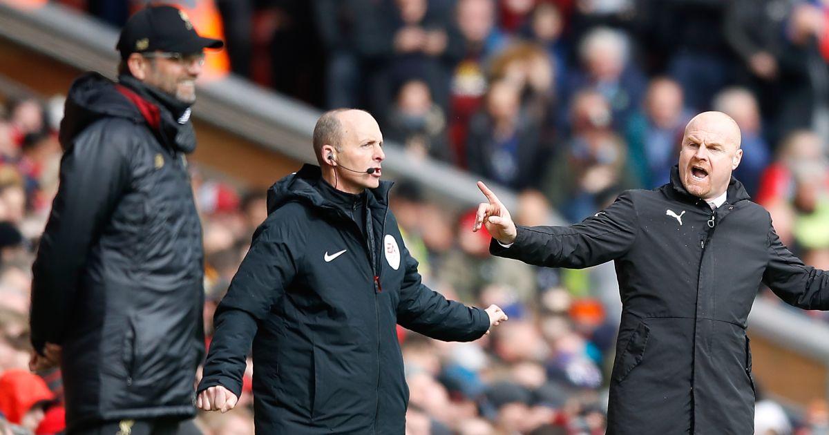 Sean Dyche and Jurgen Klopp Premier League match 2019