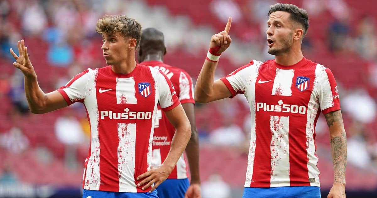 Atletico Madrid Marcos Llorente Saul Niguez August 2021