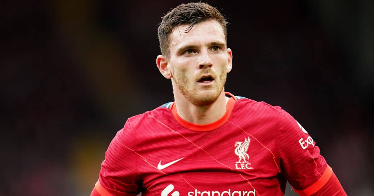 Liverpool's Andrew Robertson during the Pre-Season Friendly match at Anfield, Liverpool.