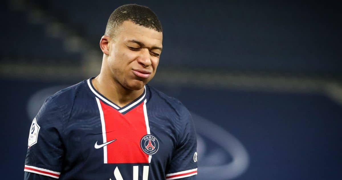 Kylian Mbappe PSG striker