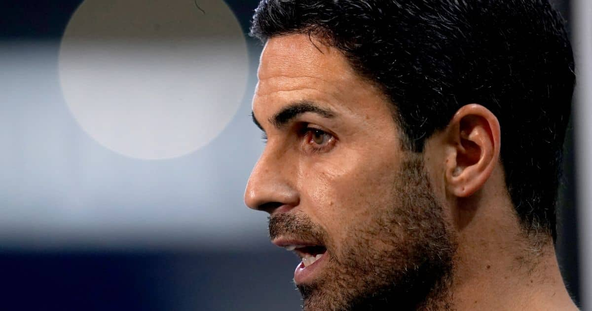 Mikel Arteta in pre-match interview before West Brom v Arsenal