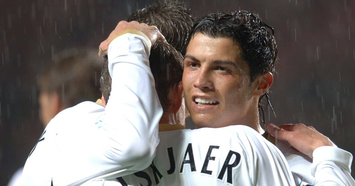 Ole Gunnar Solskjær Cristiano Ronaldo Man Utd 2006
