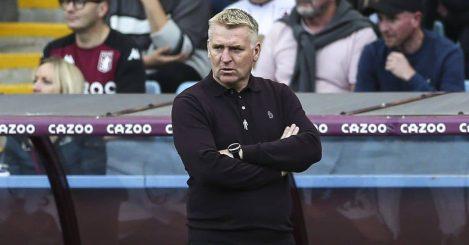 Dean Smith during Aston Villa v Brentford August 2021