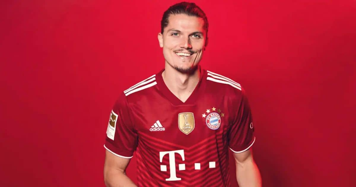Marcel Sabitzer pic via Bayern Munich