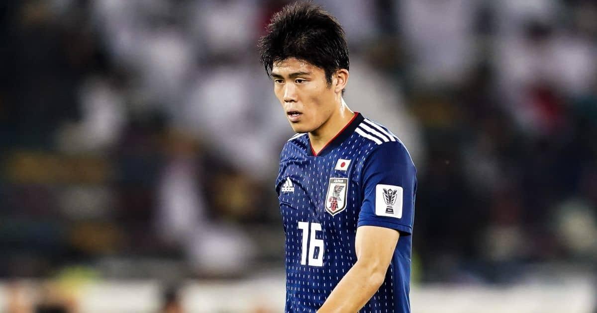 Asian Cup football, Oman versus Japan; Takehiro Tomiyasu of Japan