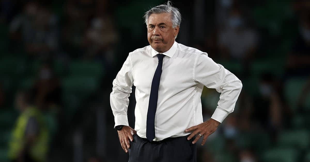 Carlo Ancelotti Real Madrid boss 2021-22 season