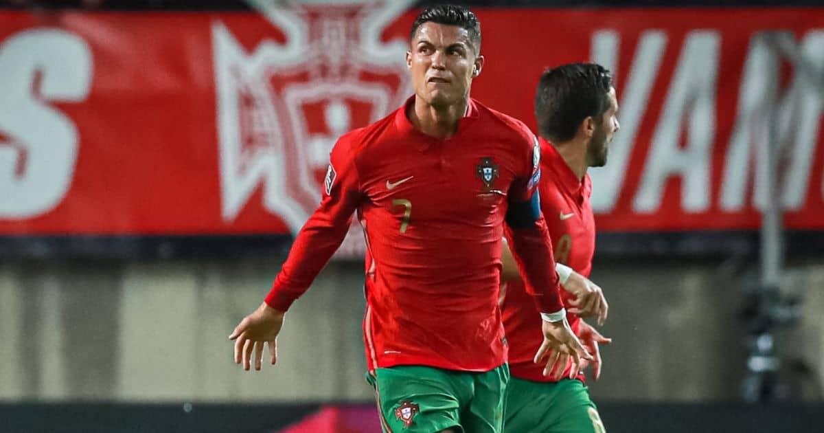 Cristiano Ronaldo Portugal v Republic of Ireland September 2021