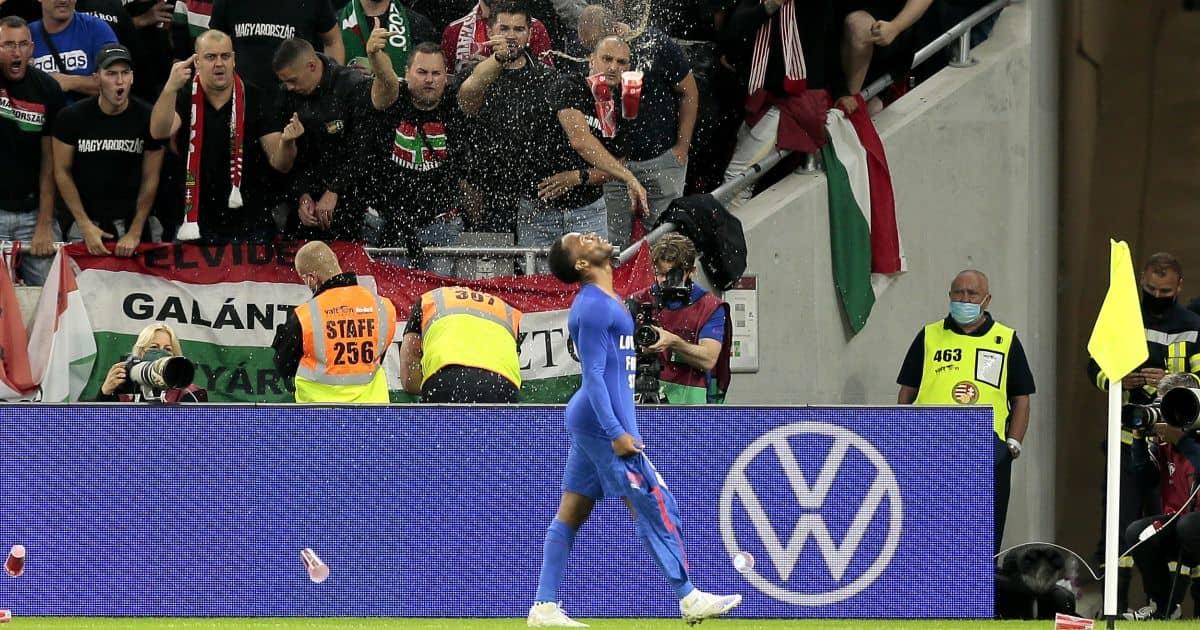 Raheem Sterling England v Hungary September 2021